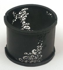 Wow, how cool is this? Wide Wrought Inlay Cuff Bracelet (In Stock)