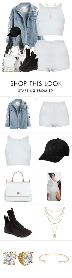 """""""by chance // rae sremmurd"""" by x0-chelseaa ❤ liked on Polyvore featuring Topshop, Dolce&Gabbana, Puma, Forever 21, ZoÃ« Chicco and Aéropostale"""