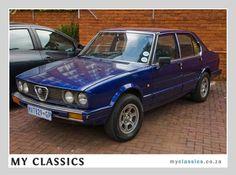 1984 ALFA ROMEO ALFETTA 159I  classic car