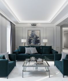 Enhance Your Senses With Luxury Home Decor Ceiling Design Living Room, Home Room Design, Interior Design Living Room, Living Room Designs, Condo Interior, Luxury Homes Interior, Luxury Home Decor, Interior Livingroom, Classy Living Room