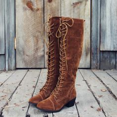 Sweet lace up details adorn these darling boots. A soft suede brown base pairs with a lace-up front design, stitch detailing, and a soft vegan suede outer. A soft inner lining and padded footbed combi