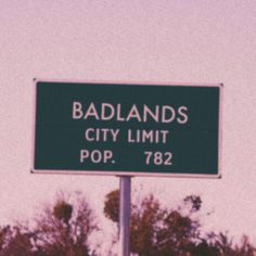 if you go on the website, welcometobadlands.com you'll see a radio station and if you press on it some of young God comes on