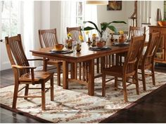 Shop for A America Laurelhurst Trestle Table - Mission Oak, LAU-OA-6-32-0, and other Dining Room Dining Tables at New Ulm Furniture Co in New Ulm, MN. Laurelhurst collection is for the purist in us who appreciates American heritage mission styled furniture. Constructed of solid oak in a rich cognac brown and a rustic oak finish.