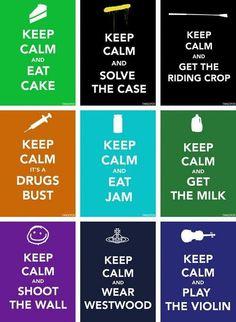 Keep Calm Sherlock style