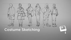Ctrl+Paint Costume Sketching by matt kohr. To see more free videos, make sure to check out www.ctrlpaint.com!