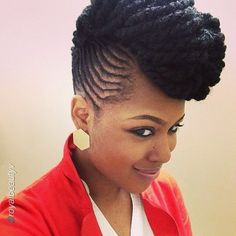 Oooh Pretty! @royalbeautyv - http://www.blackhairinformation.com/community/hairstyle-gallery/updos/oooh-pretty-royalbeautyv/ #updo #twists #fierce