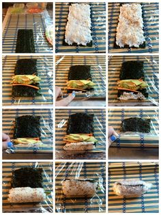 DIY Sushi Recipe- California Roll - Somewhat Simple