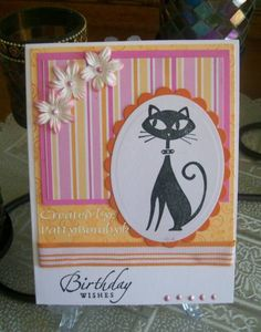 Stampin' Up! Cool Cat