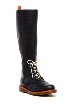 Dr. Martens // Tall Wingtip Boot