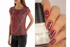 Fashion Friday - Inspiration Camaïeu ~ Didoline's Nails