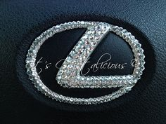 Bling! SWAROVSKI® embellished Steering wheel badge