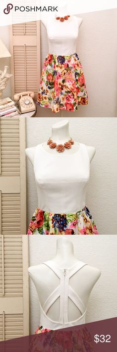 Ark & Co. Floral Skirted Fit & Flare Summer Dress More details to follow soon... Ark & Co Dresses