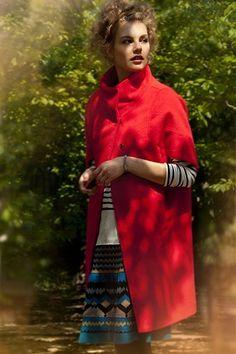 Anthropologie Elytra Cocoon Coat