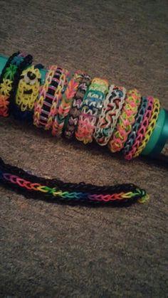 Loom armbandjes met haarband