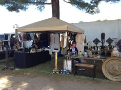 Brimfield: The Ultimate Treasure Hunt   One of the Many Booths   FATHOM