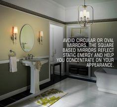 #Vastu Tip of the day : Having a mirror in the house is important but having the one with the right shape is even more important! Wanna know why?
