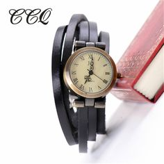 Restoring Women Long Band Vintage Multi Layers Real Leather Watch Girl Brand Vitange Clock Women Dress Watch W1319-in Women's Watches from Watches on Aliexpress.com | Alibaba Group