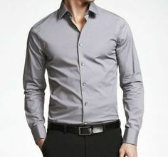 CAST IRON 1MX EXTRA SLIM FIT FRENCH CUFF SHIRT - EALUXE.COM