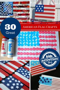 30 American Flag Crafts - Kids Activities Blog