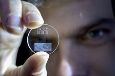 This Tiny Glass Disc Will Hold 360 TB of Data for 13.8 Billion Years | Blaze Press Futuristic Technology, Digital Technology, Technology Gadgets, Tech Gadgets, Science And Technology, Disruptive Technology, Science Geek, Spirit Science, Technology Updates