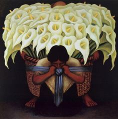 Diego Rivera El Vendador de Alcatraces (The Vendor of Alcatraces)