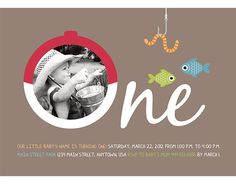 The Gone Fishing Birthday Invitation is perfect for the little outdoorsman in your life. Simply place your order then email your babys high resolution photo, event information (Date, Time, Location, Contact) and boy or girl to my yahoo account... hellobabydesign @ yahoo.com (no spaces before or after @). (Price is for a custom 5x7 digital file only. This can be printed at any online or in-store print shop and most offer 5x7 photo cards with envelopes.)