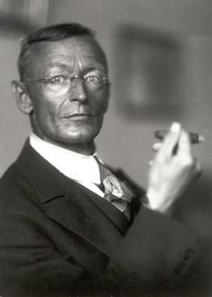 Hermann Hesse ~ best known for his books Steppenwolf, Siddhartha, and The Glass Bead Game