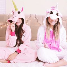 Pijama de Unicórnio Diversas Cores