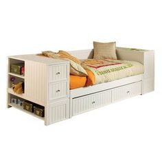 Brimnes Day Bed Frame With 2 Drawers White 80x200 Cm