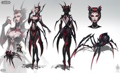 Elise The Spider Queen by Zeronis.deviantart.com on @deviantART