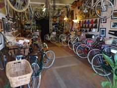 The Classic Bicycle Shop - St Kilda, Melbourne