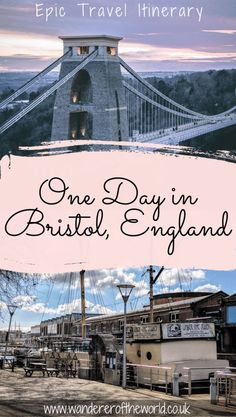 Epic Bristol Itinerary How To Spend One Day In Bristol Bristol London, Bristol England, Bristol Uwe, Europe Travel Guide, France Travel, Travel Uk, London Travel, Clifton Village, Great Buildings And Structures