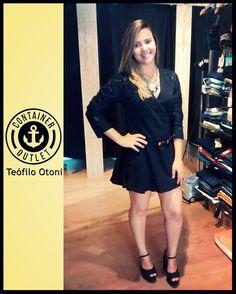 Mais uma oferta #AniversarioContainer, este vestido maravilhoso por apenas 79,99! #Vemprocontainer #ContainerOutlet