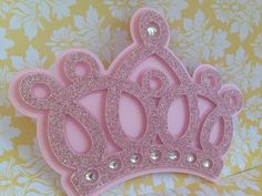 Items similar to Princess Crown invitations - 25 princess Crown - Princess Invitations - Crown Invitation rhinestones - new invitations - unique - crown on Etsy