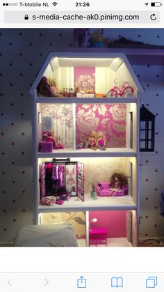 Barbiehuis deluxe Monster High House, Presents For Kids, Miniatures, Bed, Dollhouses, Furniture, Home Decor, Decoration Home, Stream Bed