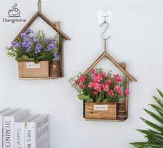 Flower Basket, Flower Pots, Craft Stick Crafts, Wood Crafts, Flower Pot Design, Diy Planter Box, Flower Nursery, Wooden Flowers, Starter Set
