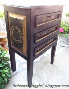 LittleMissMaggie: Spool Cabinet