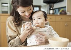 parent and child, baby animals, female - Stock Photo by iriephoto