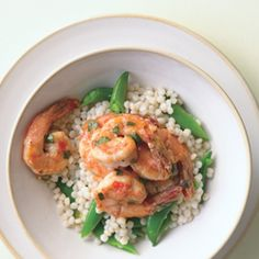 """Shrimp and """"Pearls"""""""