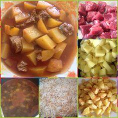 Yachnet Batata - Kartoffeln mit Rindfleisch https://www.facebook.com/pages/Libanesische-K%C3%BCche-Lebanese-Kitchen/1491150174478035