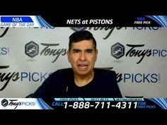 Brooklyn Nets vs. Detroit Pistons Free NBA Basketball Picks and Predicti...