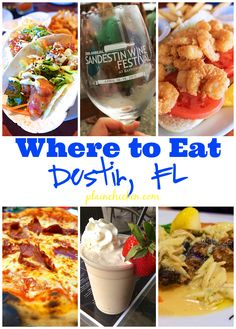 Great places to eat on vacation in Destin, FL - Mitchell's Fish Market, Ocean Club, Fat Clemens's, The Back Porch, The Donut Hole