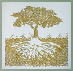 Tree of Life String Art.