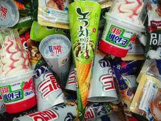 Korean ice cream.