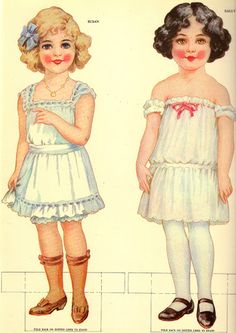 Antique paper dolls and paper toys to make - Joyce hamillrawcliffe - Picasa Web Albümleri