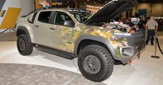 Chevy's Colorado ZH2 Can Power A Small Field Hospital For Hours #Chevrolet #Chevrolet_Colorado