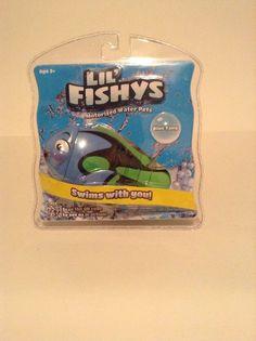 NIP LiL Fishys Motorized Water Pets Bathtub Toys Kids Swim Play Blue Tang #RedwoodVentures
