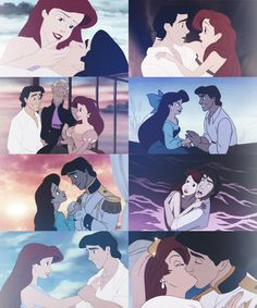 Ariel and Eric. I want a Love like this ❤ one of my many favorite movies!