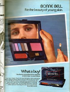 Bonne Bell, Seventeen Magazine, September 1982 by Look In The Tunk, via Flickr