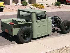 Willys truck rat rod